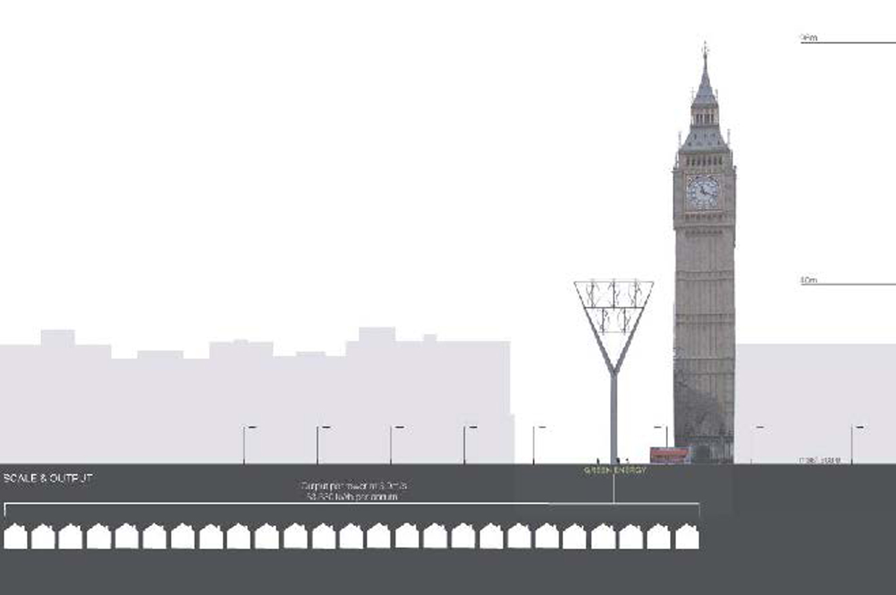 Beacon Power in the City by Marks Barfield Architects
