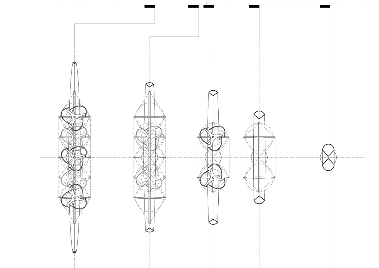 Beacon Plan Diagrams by Marks Barfield Architects