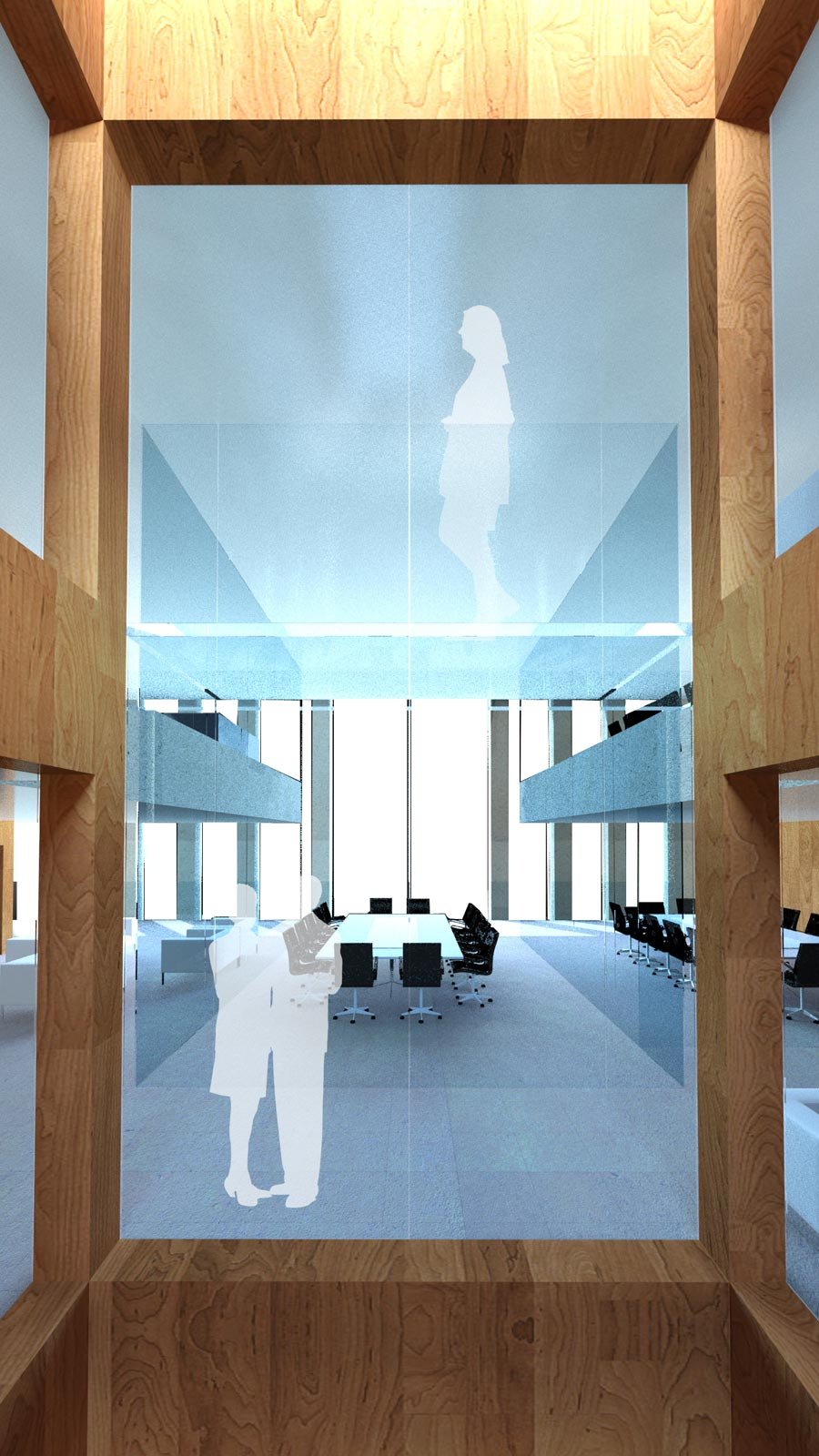 Victoria Embankment Meeting Room by Marks Barfield Architects