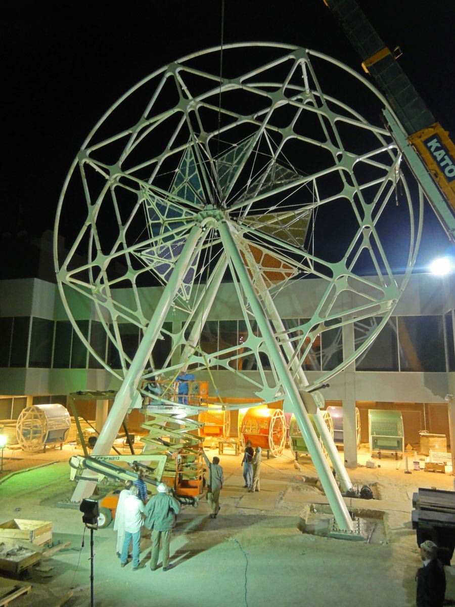 ferris wheel - Bayt Abdullah, Children's Hospice by Marks Barfield Architects