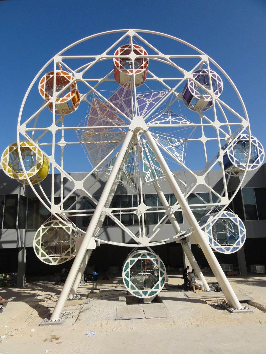 ferris wheel - Bayt Abdullah, Children's Hospice by Marks Barfield Architects