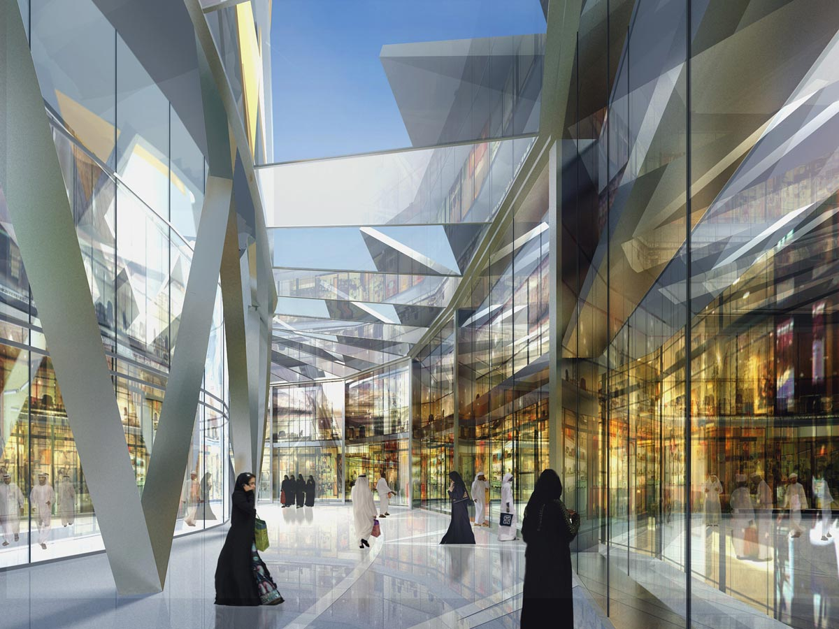 Jeddah Tower Residences Gallery View by Marks Barfield Architects
