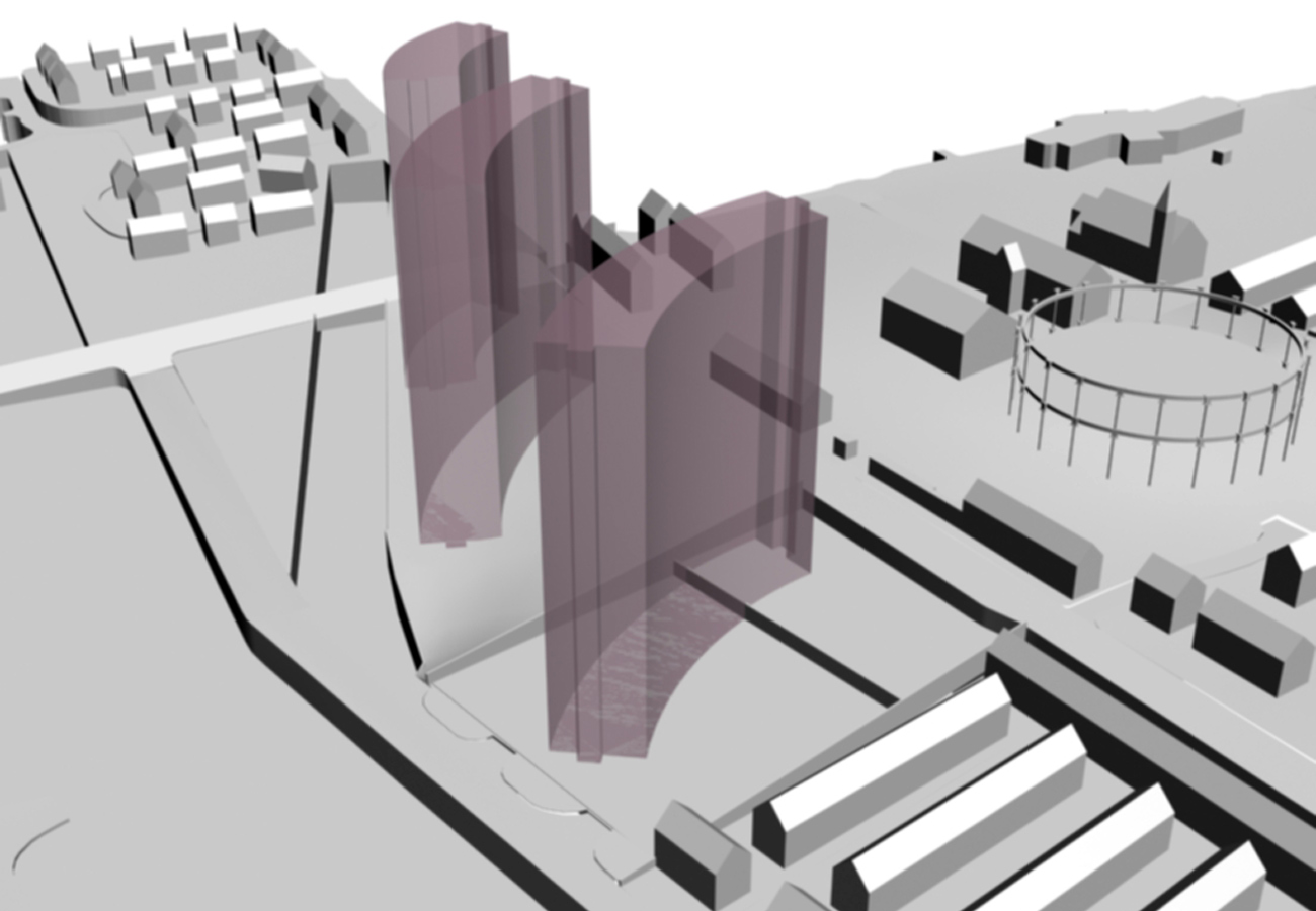 Liverpool Edge Cookie Cutter by Marks Barfield Architects