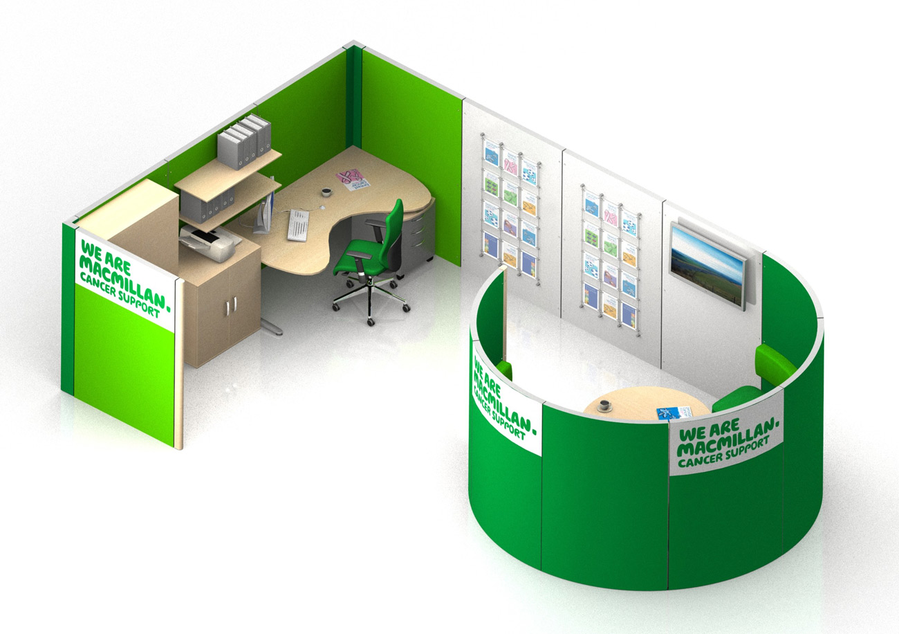Spaceoasis Macmillan Cancer Support by Marks Barfield Architects