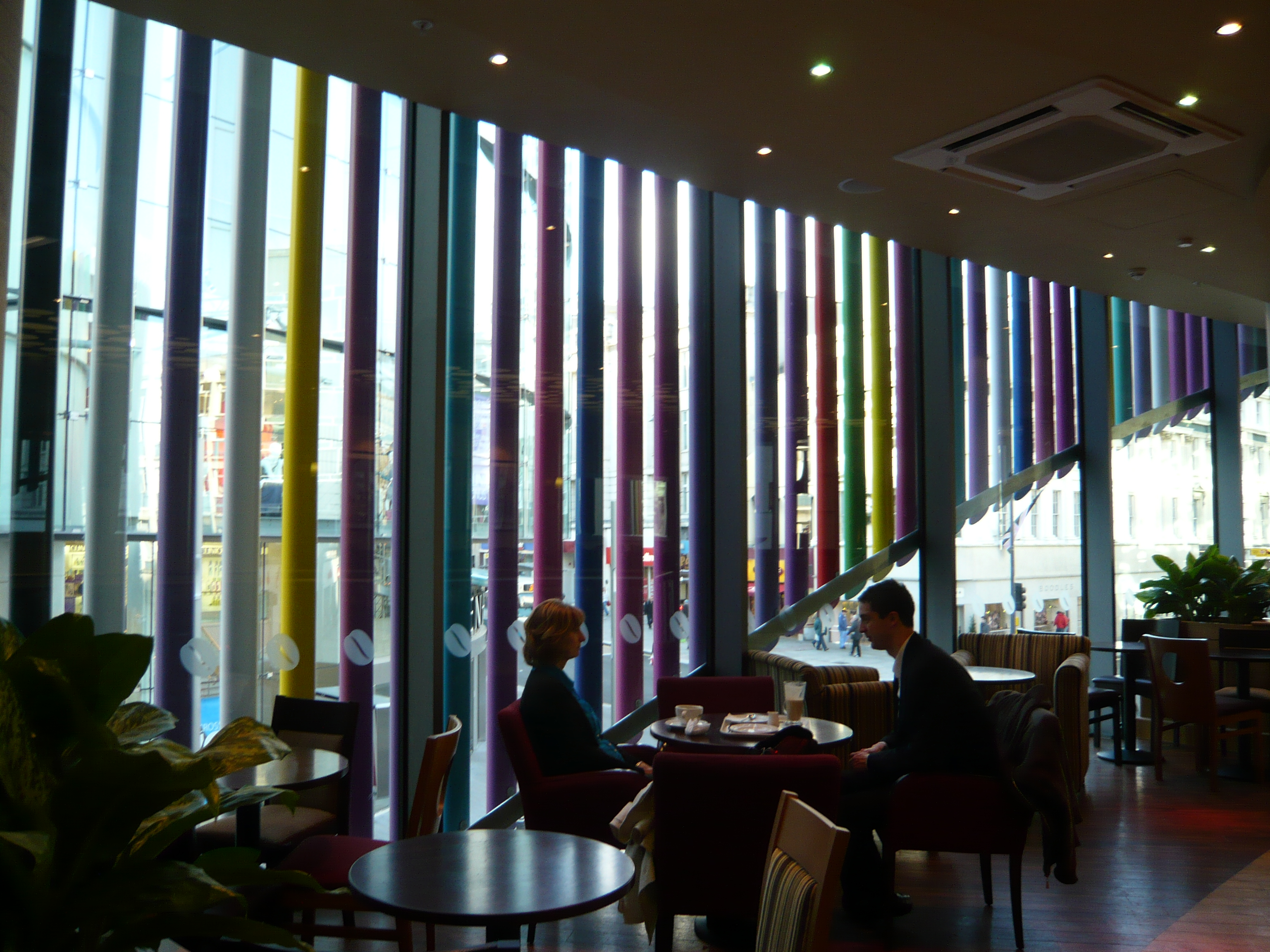 Liverpool One Costa Cafe by Marks Barfield Architects