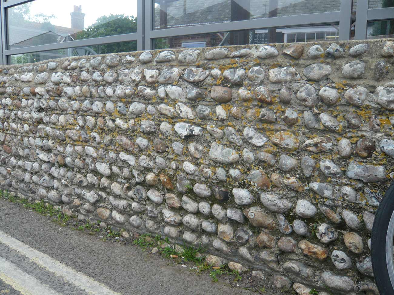 Selsey Marine Centre Concept Image - Pebble Stone Wall