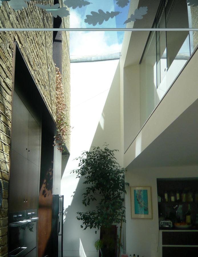 Priory Grove Glazed Bridge Link by Marks Barfield Architects
