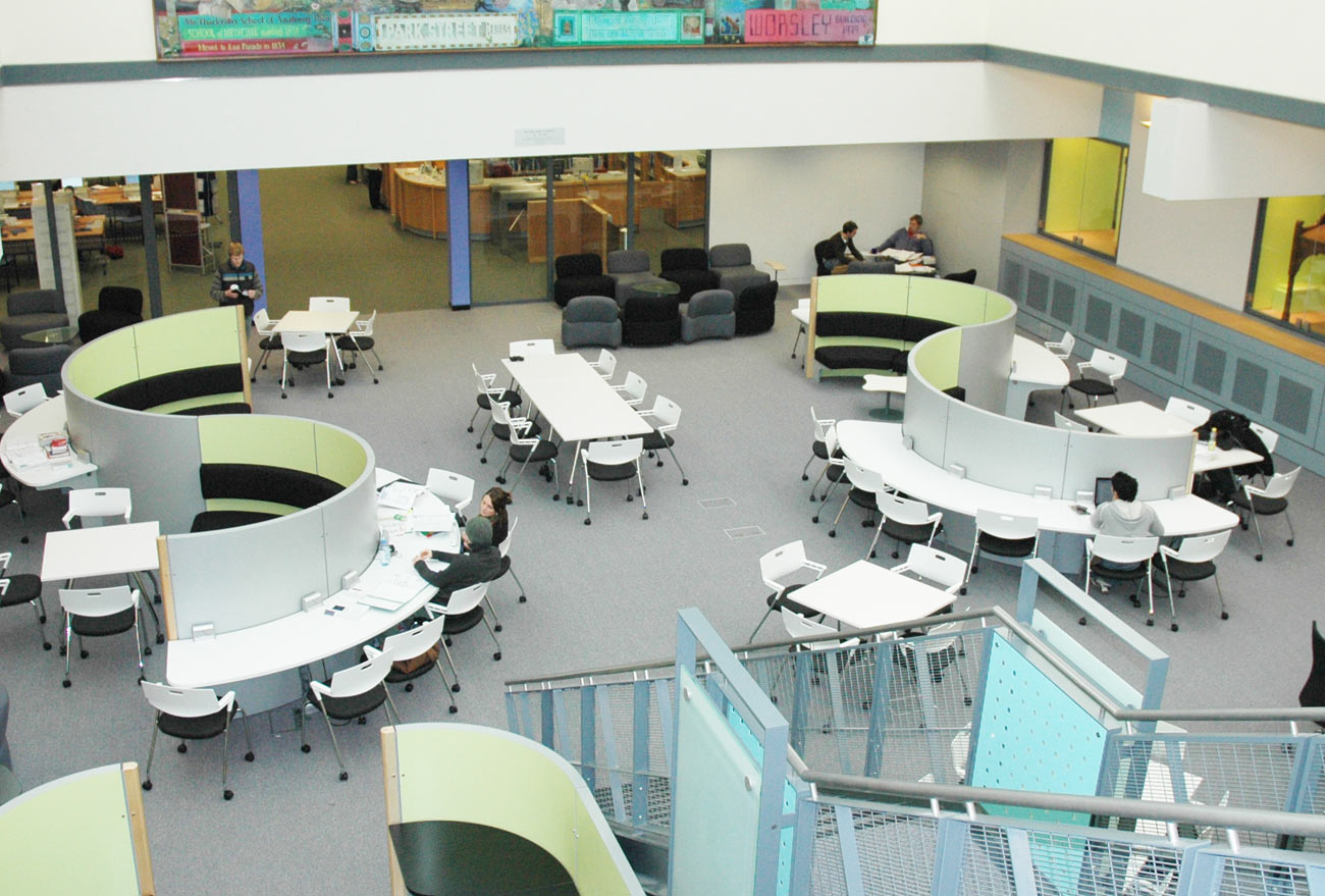 Spaceoasis Leeds University by Marks Barfield Architects