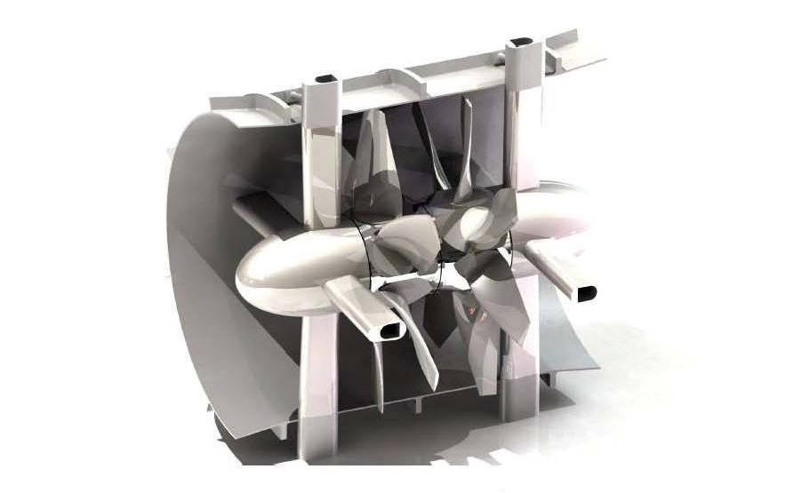 Severn Tidal Barrage Turbine