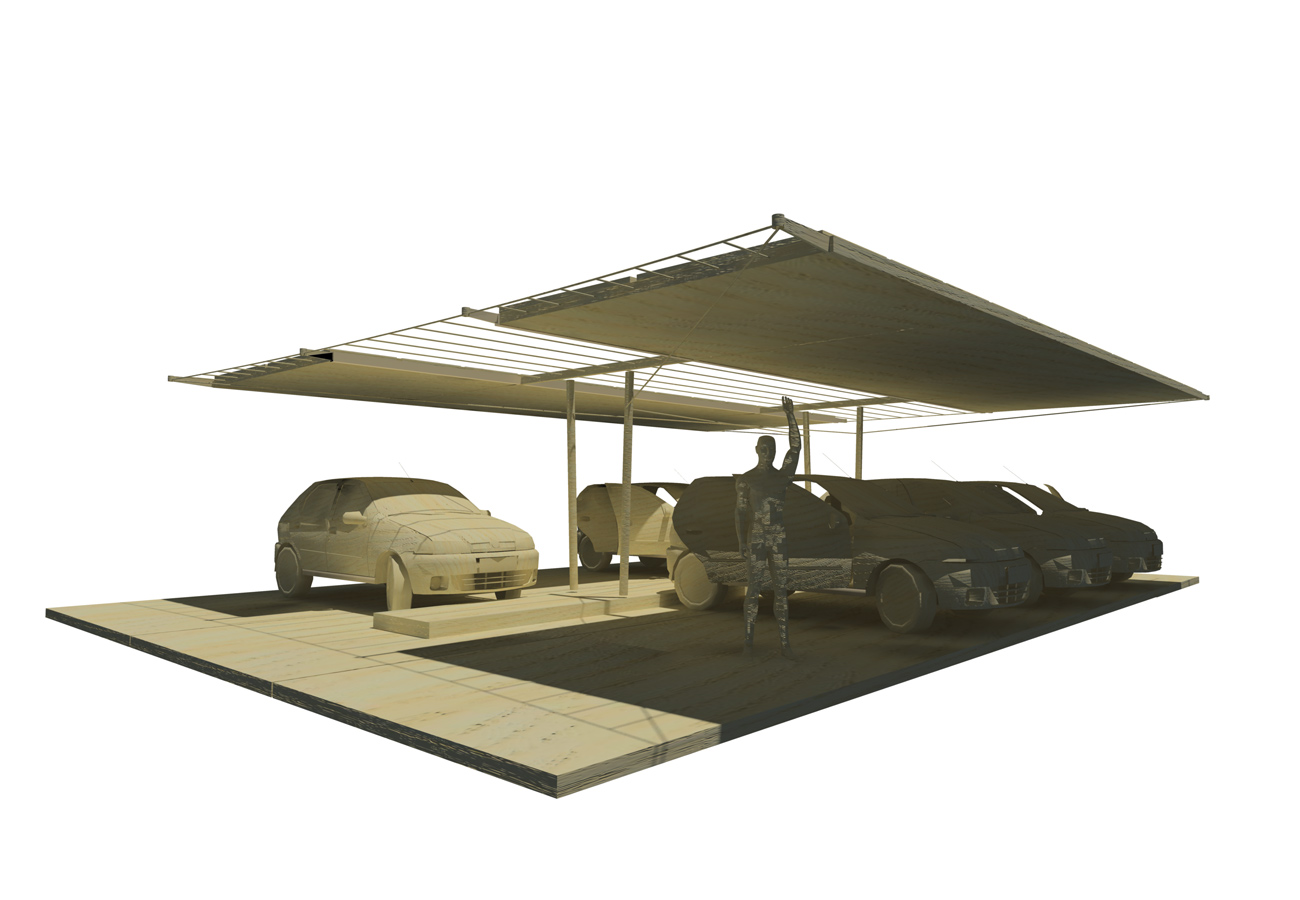 PV Car Port concept by Marks Barfield Architects