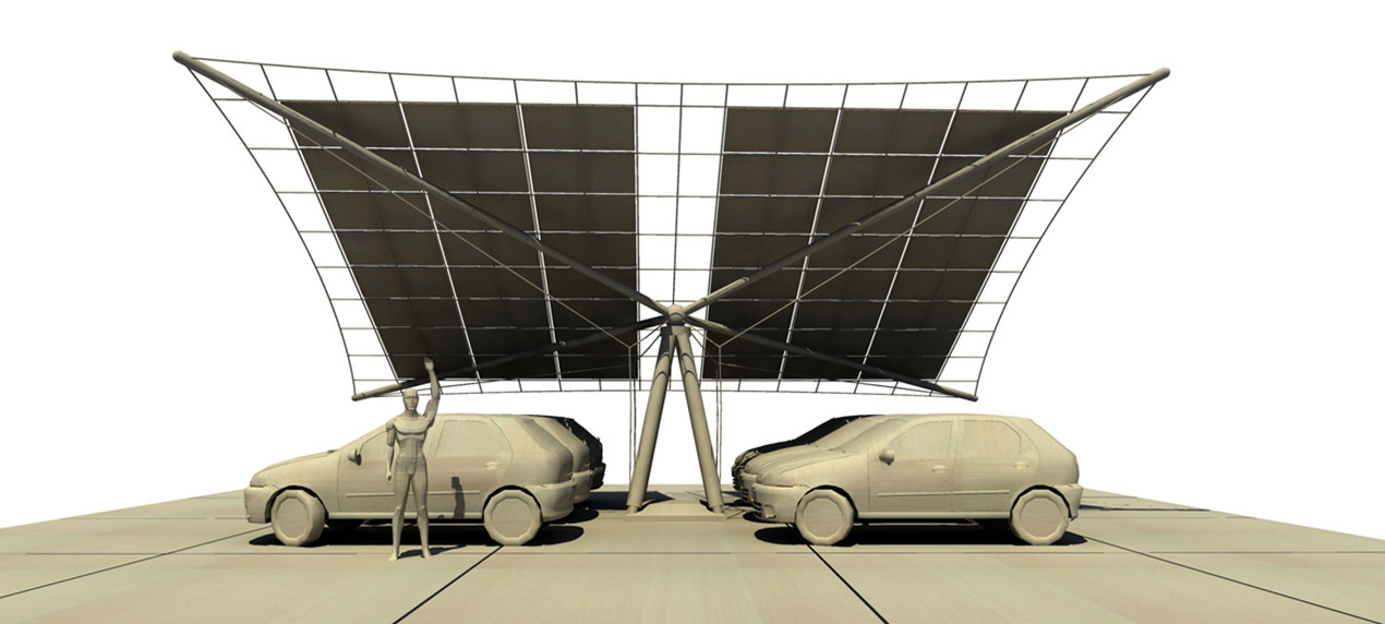 PV Car Port Thumbnail by Marks Barfield Architects
