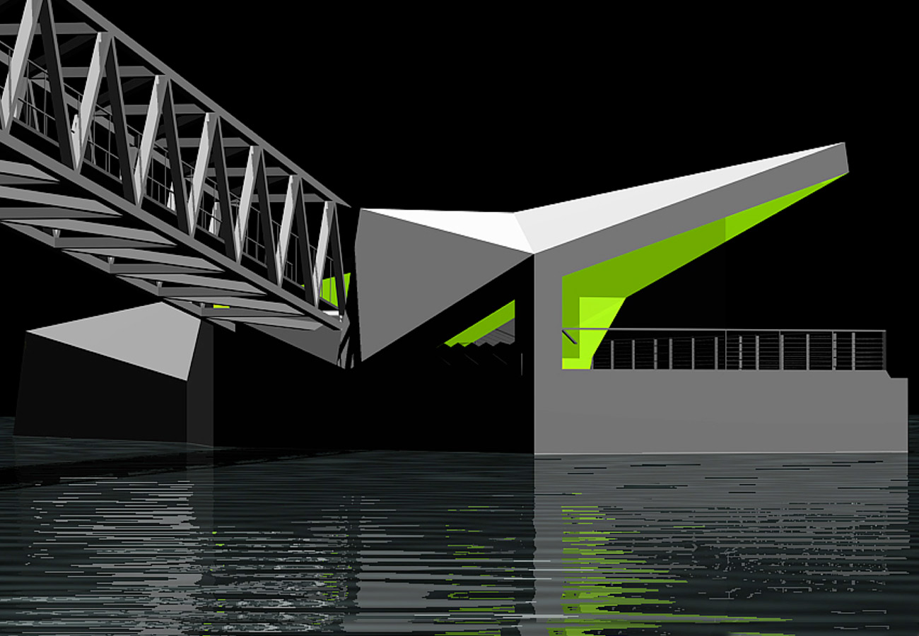Mill Bank Pier CGI by Marks Barfield Architects