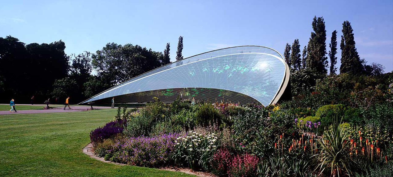 Regents Park Conservatory by Marks Barfield Architects