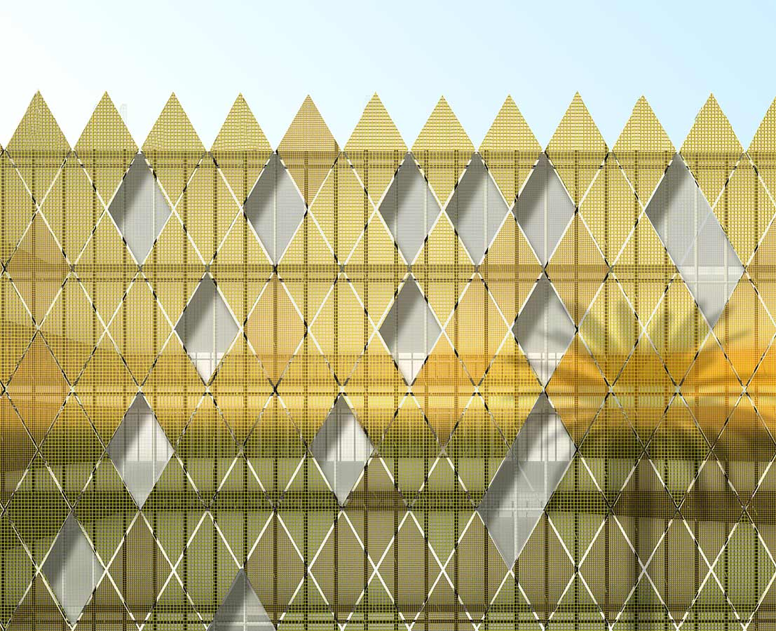 cladding - ITCC Offices by Marks Barfield Architects