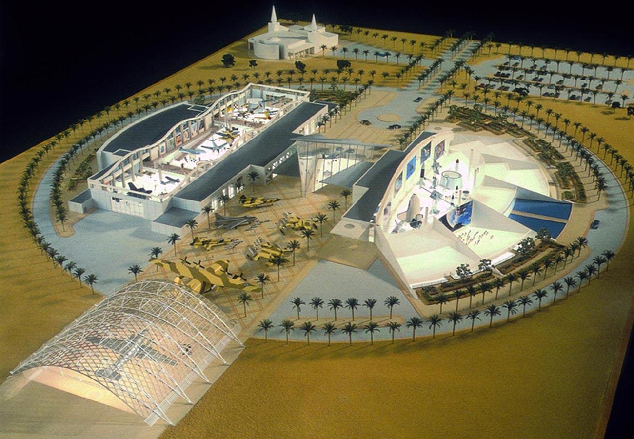 Riyadh Air force Museum model