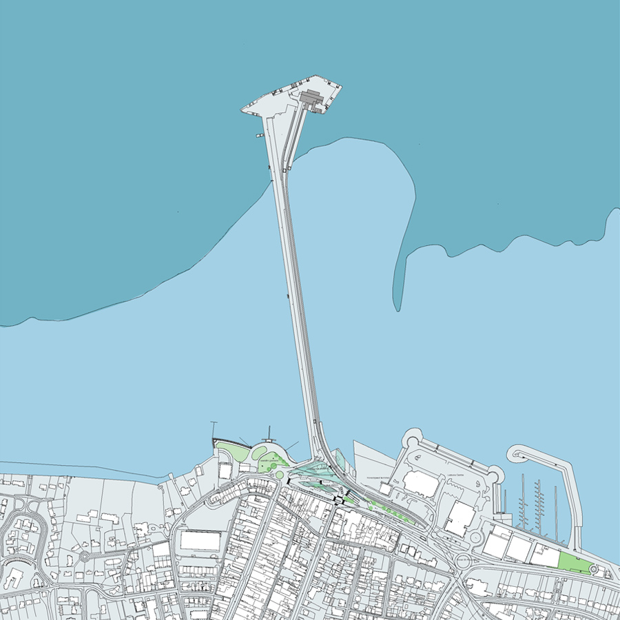 Ryde Interchange Context Plan by Marks Barfield Architects