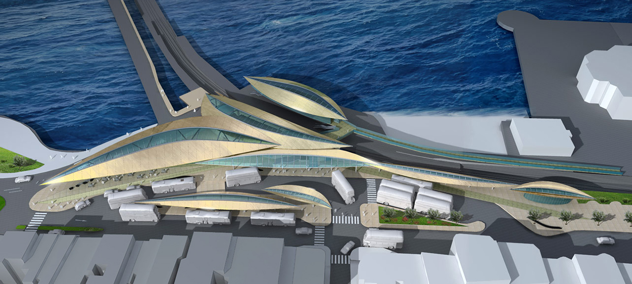 Ryde Interchange Thumbnail by Marks Barfield Architects