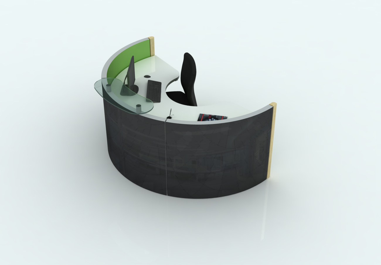 Spaceoasis Single Person Desk by Marks Barfield Architects