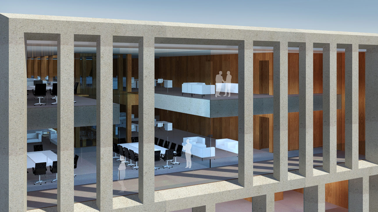 Victoria Embankment Top Floor by Marks Barfield Architects