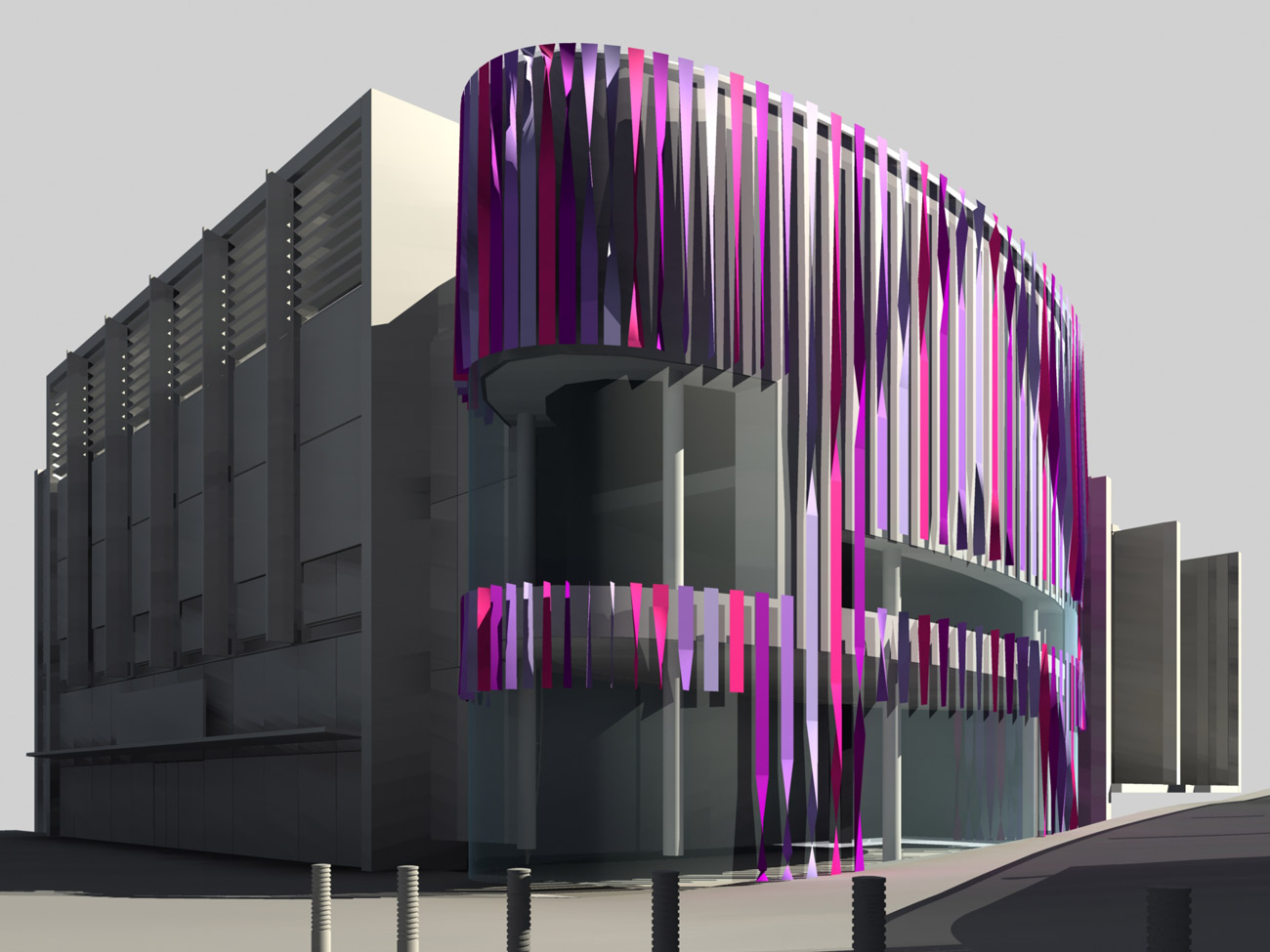 Facade Test - Liverpool One Costa Cafe by Marks Barfield Architects