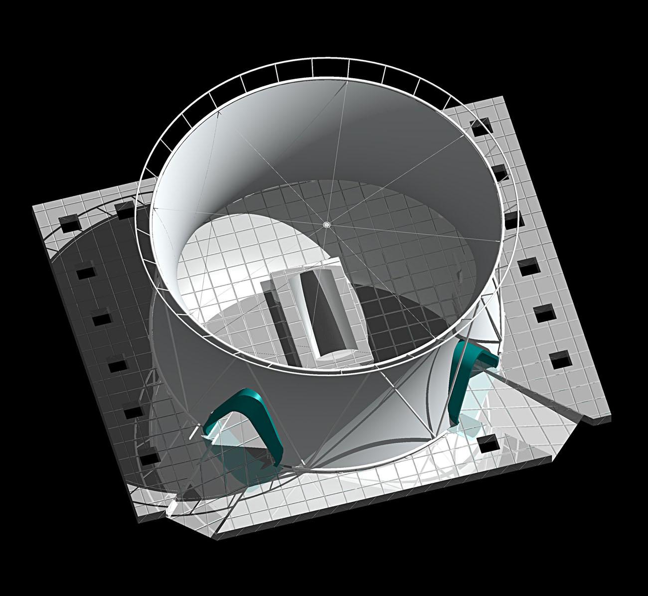 alumasc interbuild axonometric by Marks Barfield Architects