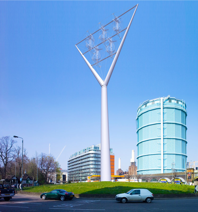beacon roundabout CGI by Marks Barfield Architects