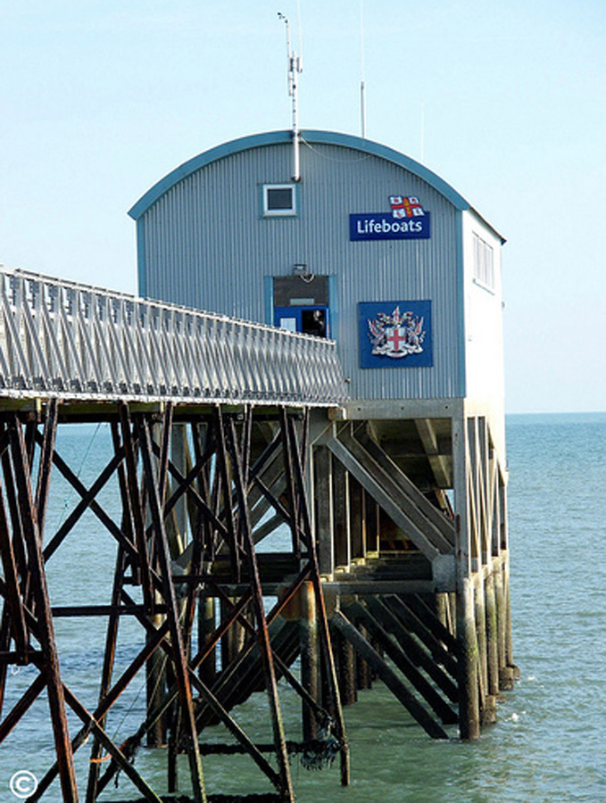 Selsey Marine Centre Concept Image - life boat house