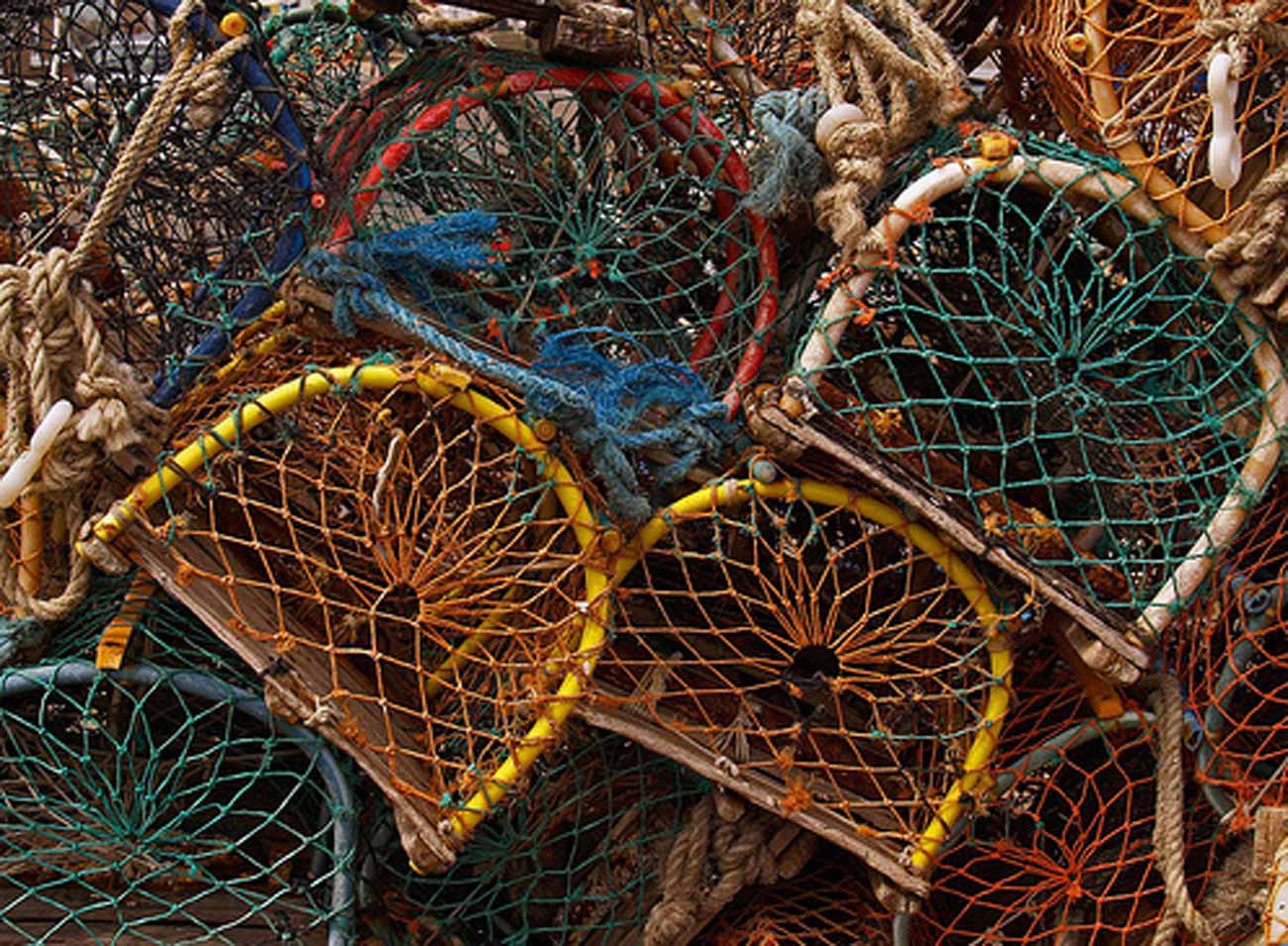 Selsey Marine Centre Concept Image - lobster pots