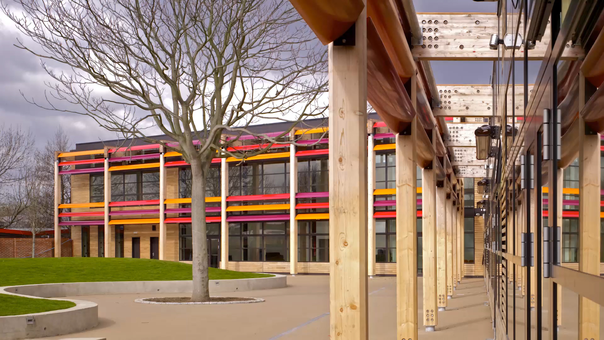 Michael Tippet School by Marks Barfield Architects