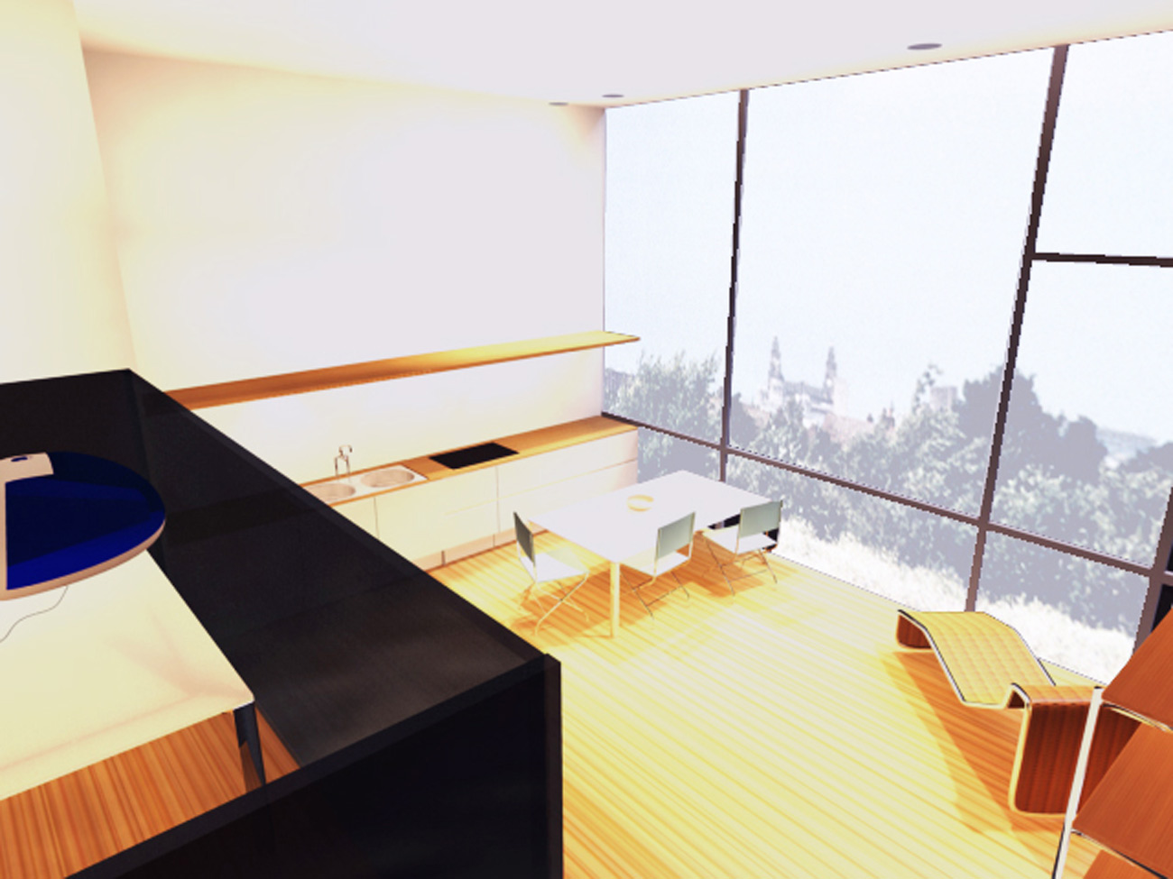Liverpool Edge Interior CGI by Marks Barfield Architects