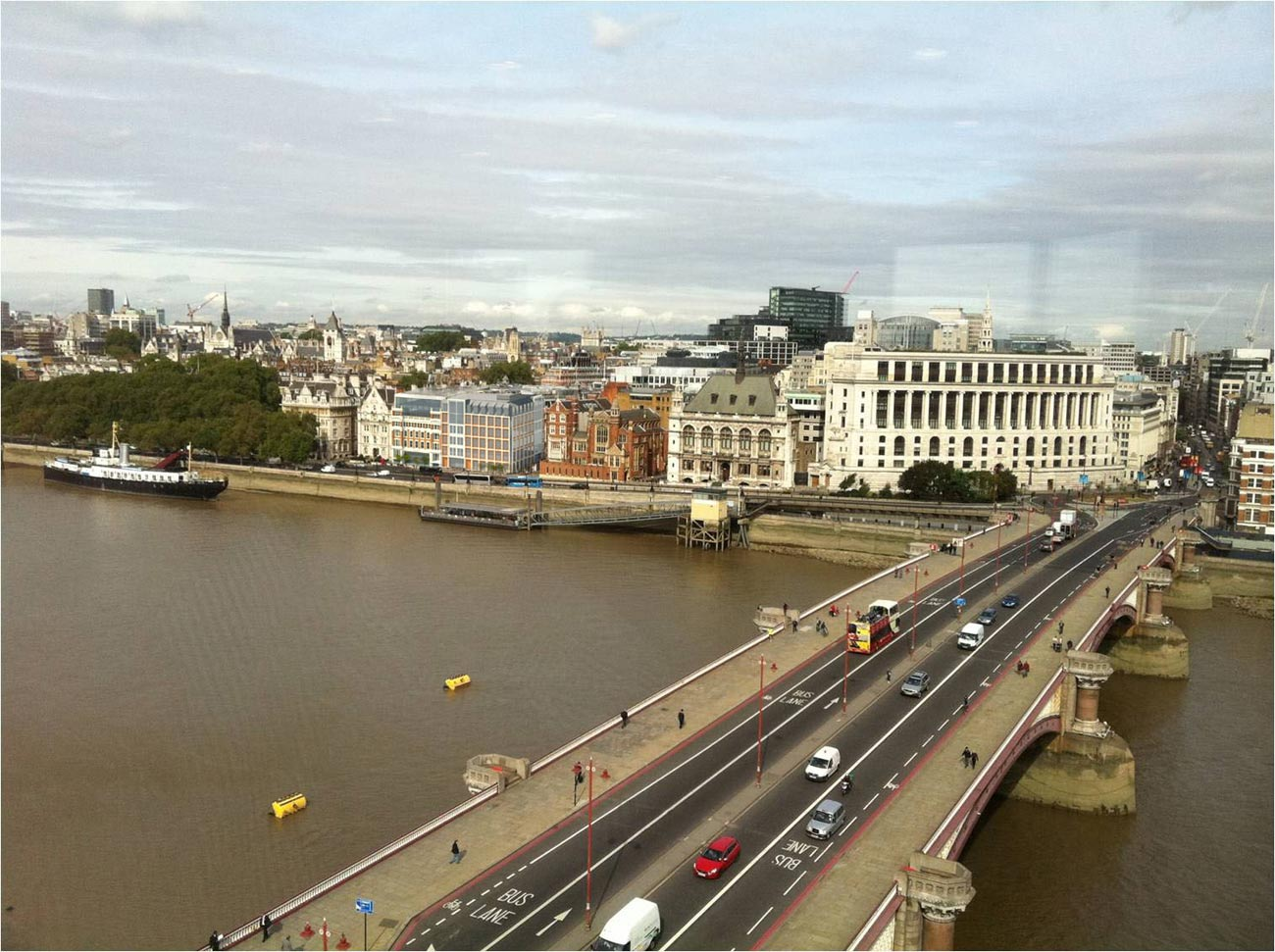 Victoria Embankment Original View by Marks Barfield Architects