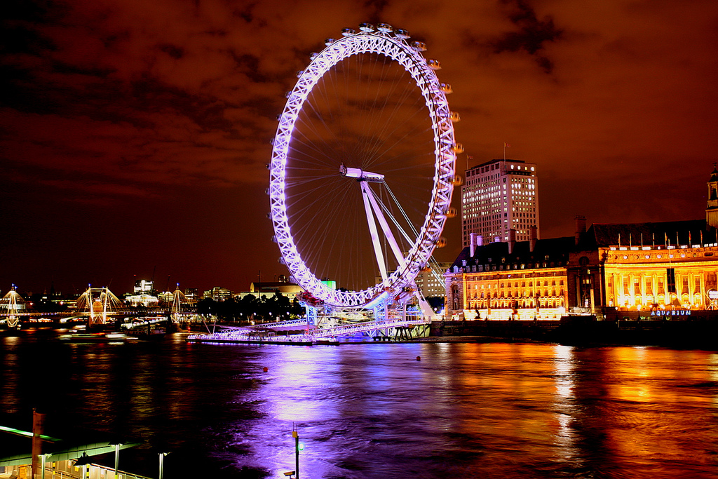 London Eye, Marks Barfield Architects