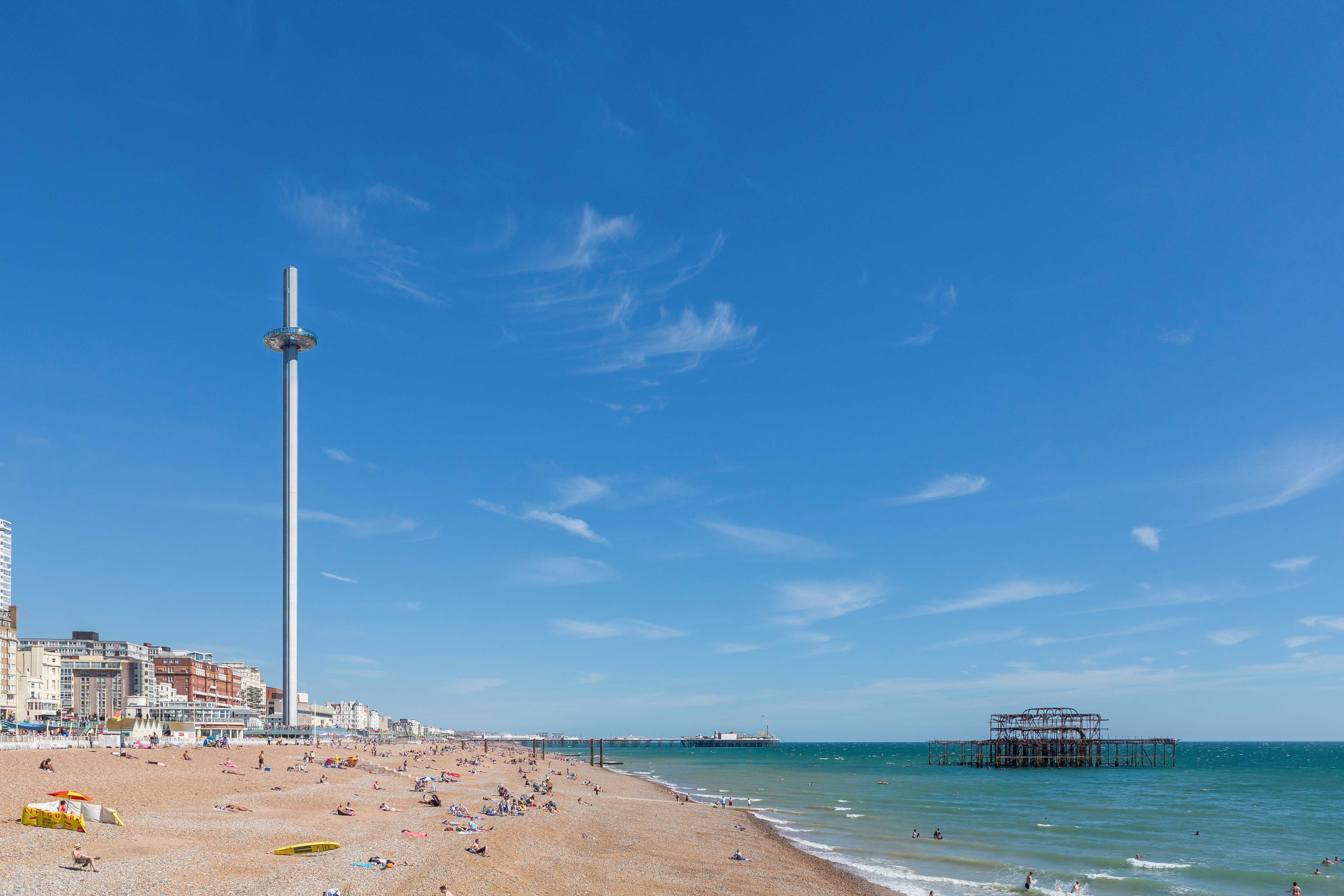 Brighton i360 kids Marks Barfield Architects