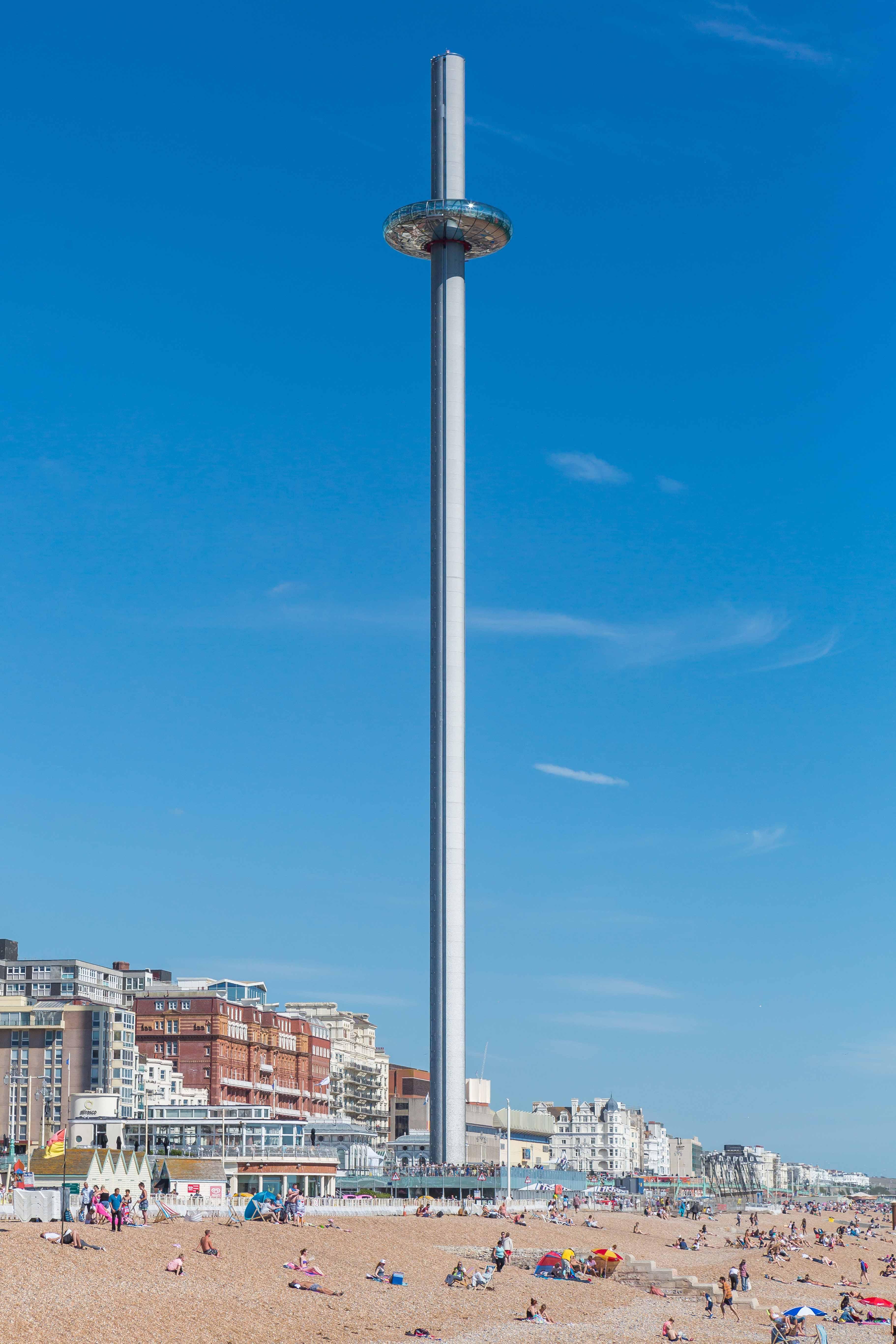 Brighton i360 Marks Barfield Architects