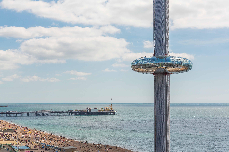 Brighton i360 pod view Marks Barfield Architects