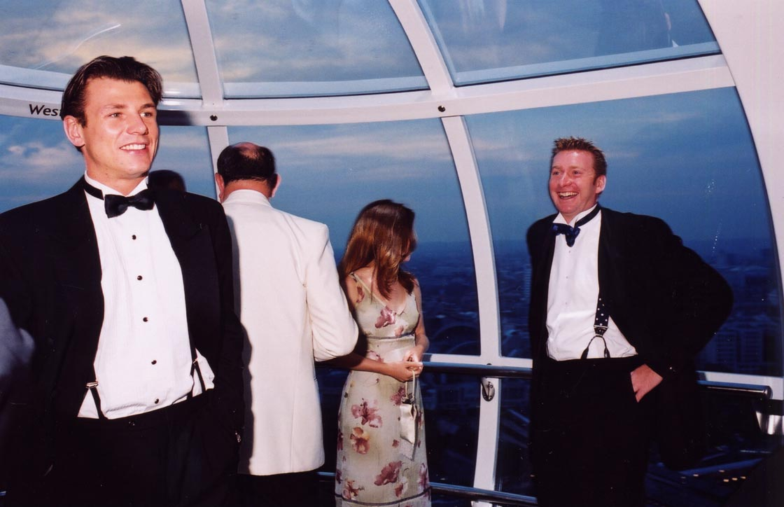 London Eye Tuxedo by Paul Trevor, Marks Barfield Architects