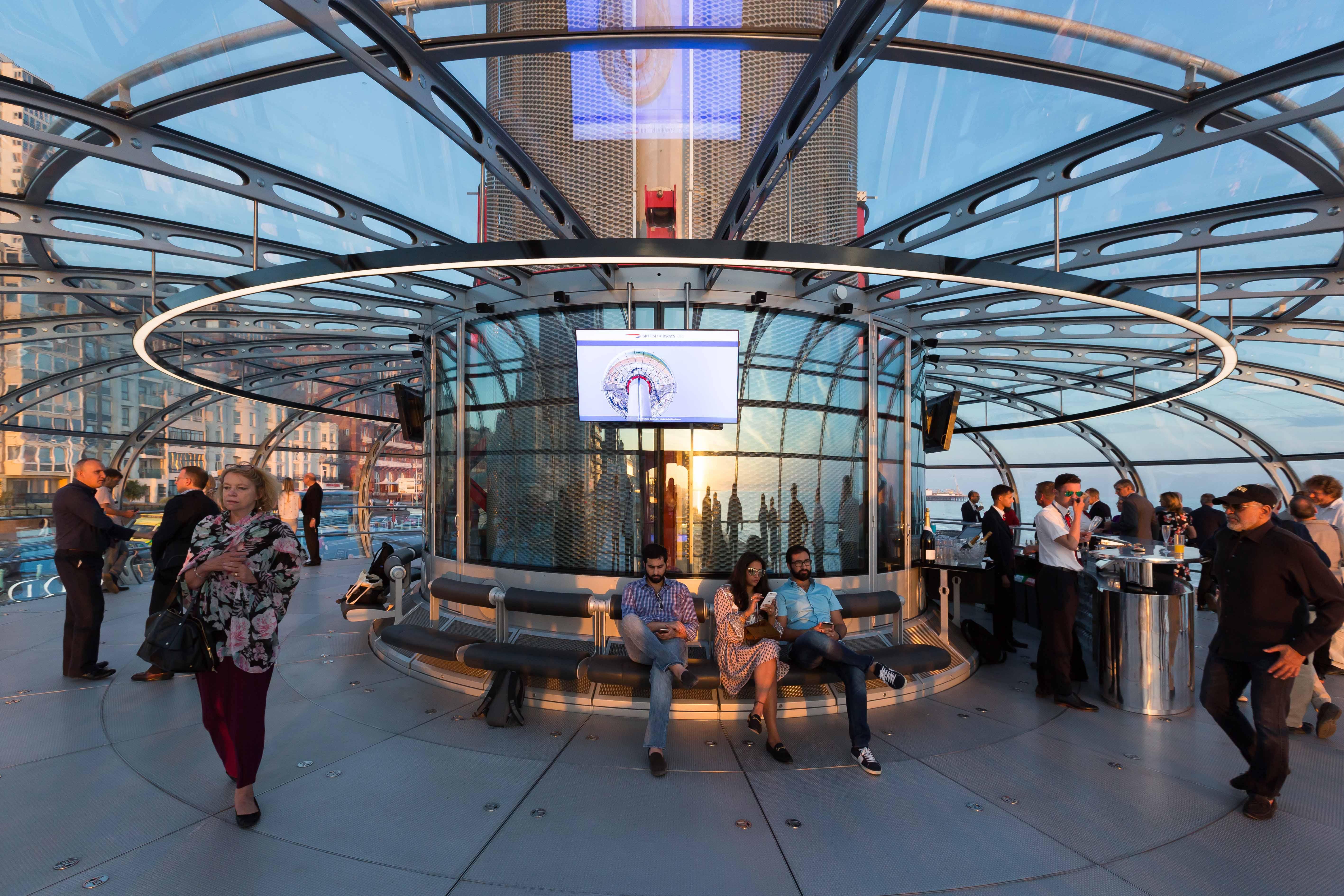 Brighton i360 pod, Marks Barfield Architects