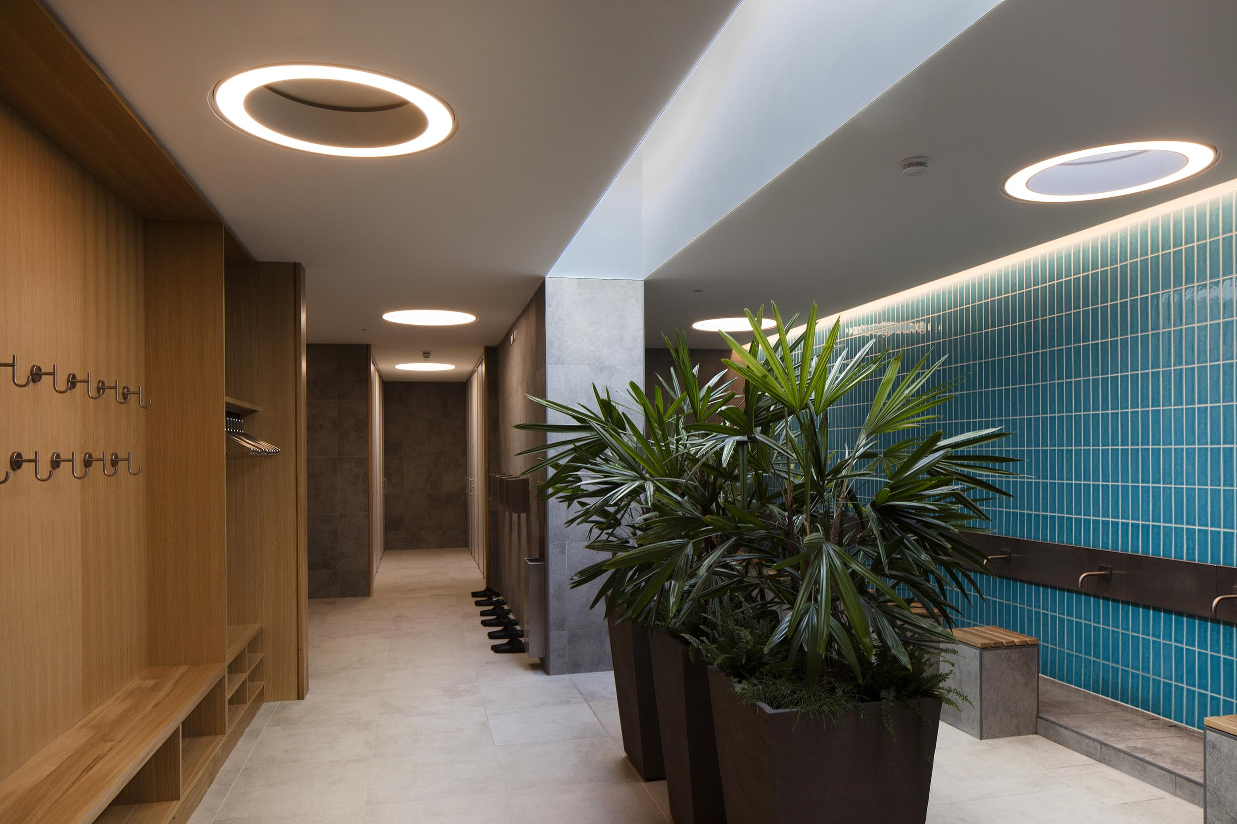 Cambridge Mosque Male ablutions by Marks Barfield Architects, photography by Morley von Sternberg