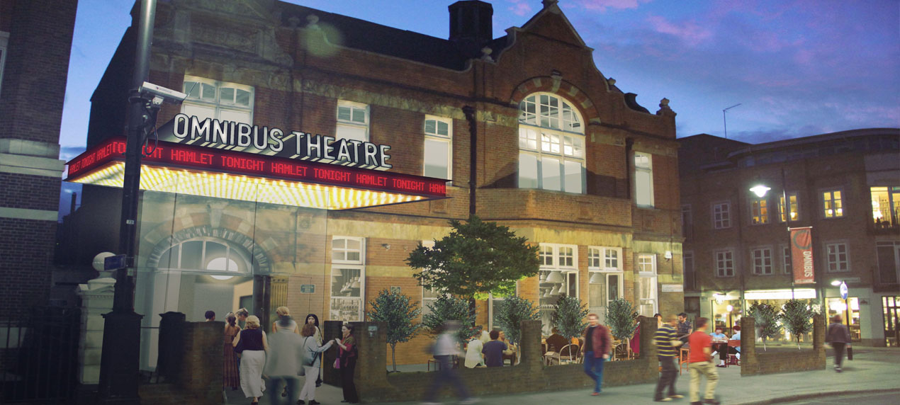 Omnibus Theatre, Marks Barfield Architects