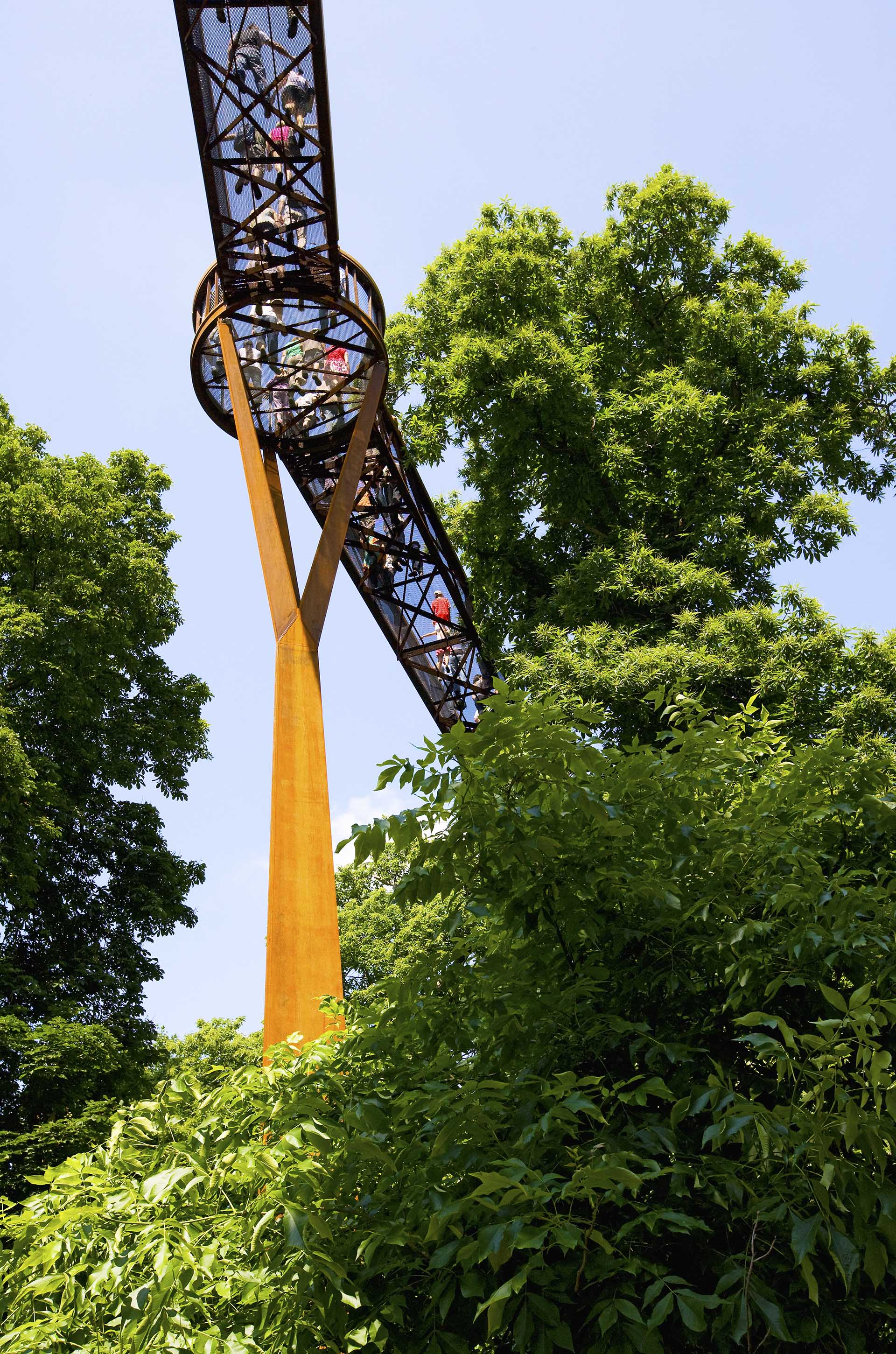 Tree Top Walkway Kew Gardens by Marks Barfield Architects
