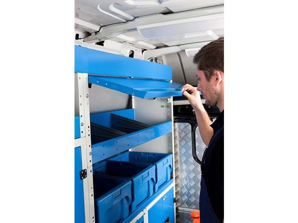 shelving for vans