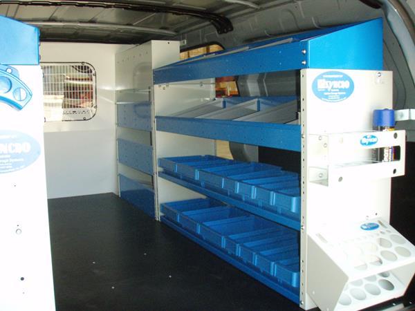 shelves with doors