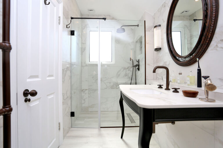 Bathroom Three after