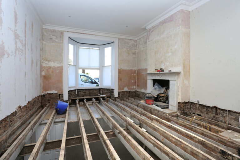 Sitting room before