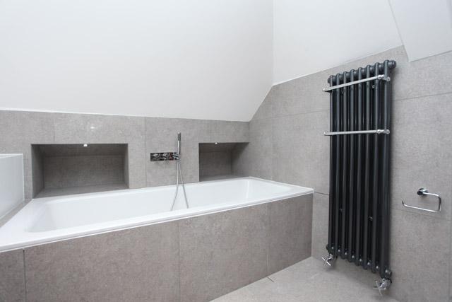 Bath & radiator low