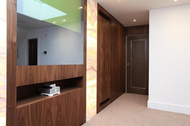 TV & Bedroom door low