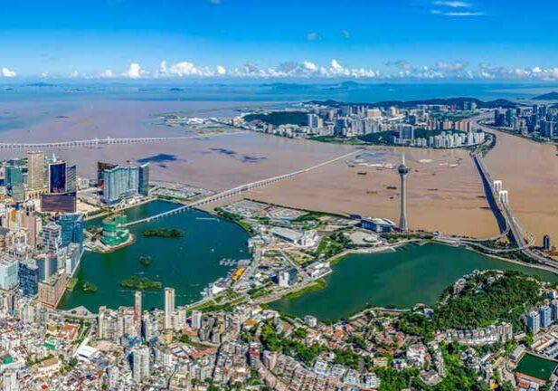 Macau-aerial