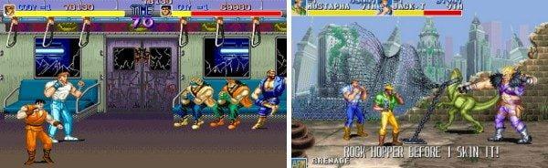 Final Fight ve Cadillacs and Dinosaurs oyunları iş birliği