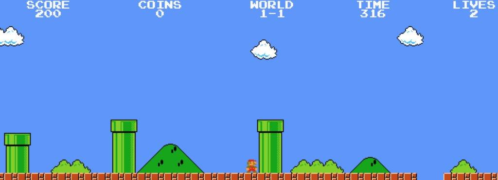 Super Mario geri bildirim örneği