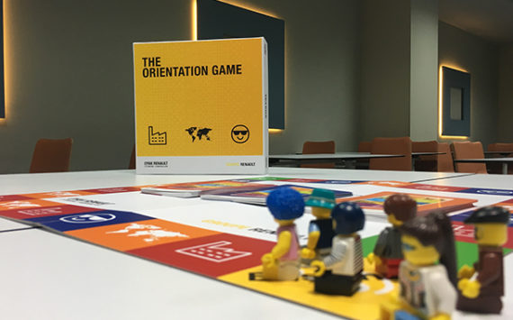 Oyak Renault The Orientation Game Kutu ve Legolar
